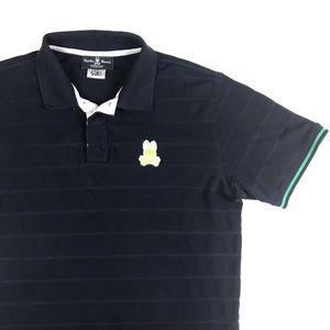 Psycho Bunny Cotton Polo Shirt Golf Logo Casual